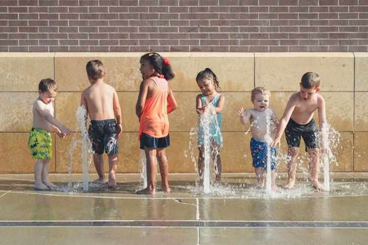 child fitness, social skills