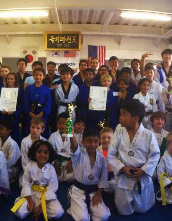 World Champion Tae Kwon Do
